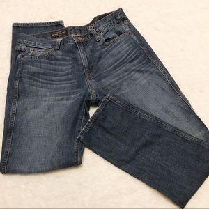 J.crew Vintage Straight Dark Wash Jeans Size 28